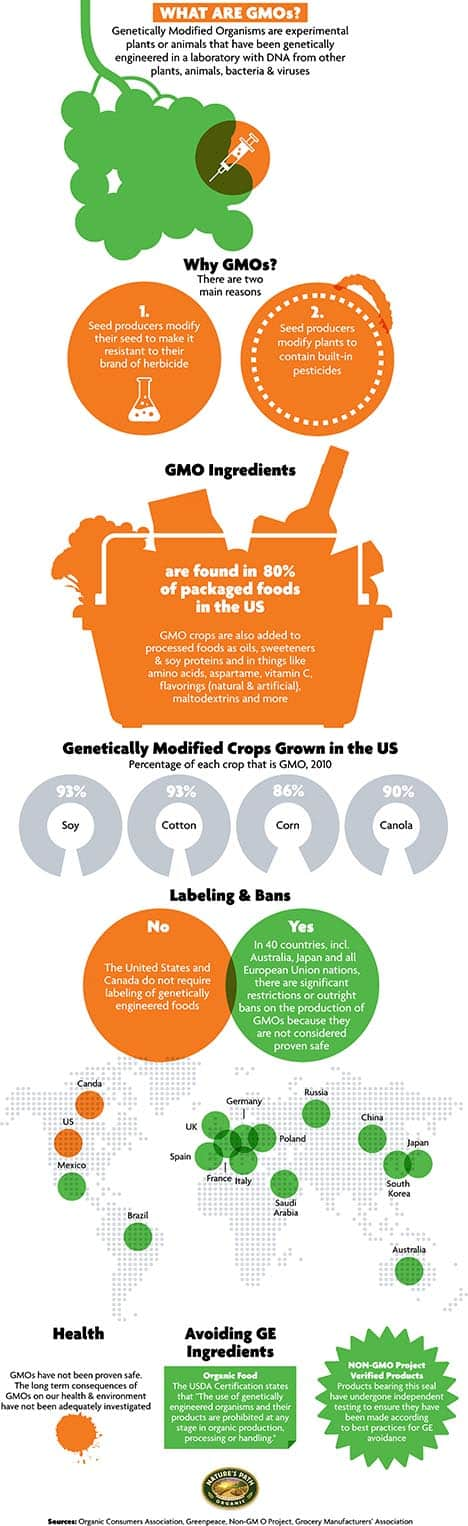 What are GMOs? October is GMO Awareness Month and many people still do not know exactly what GMOs are. Therefore, I would like to show you a great infographic below from […]