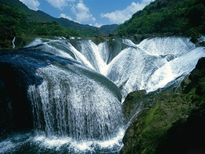 Pearl Shoal Waterfall